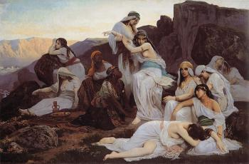 Edouard Bernard Debat-Ponsan : The Daughter of Jephthah